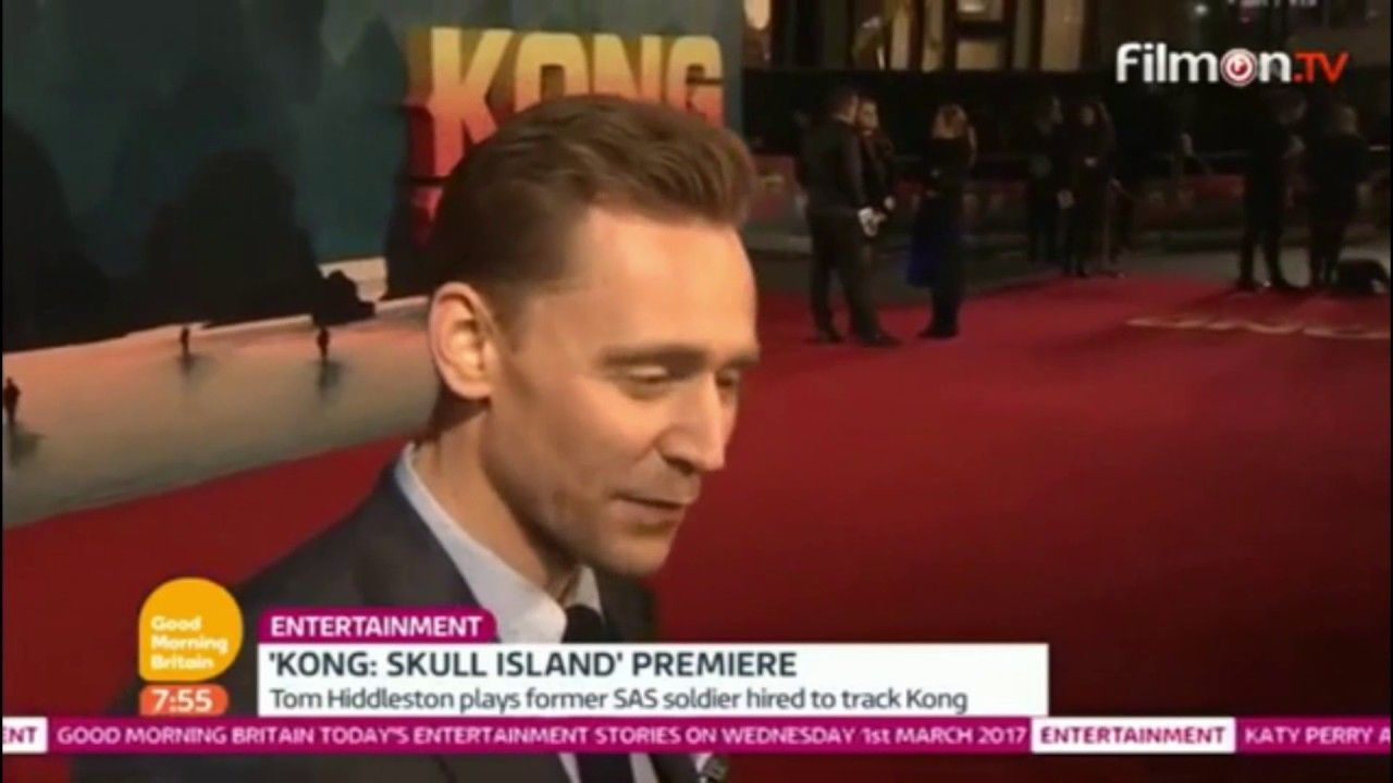 Kong Skull Island Premiere on Good Morning Britain