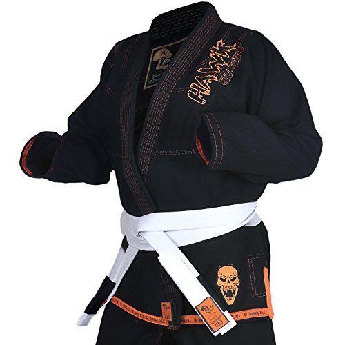 Sports & Fitness Hawk Brazilian Jiu Jitsu Suit BJJ Gi