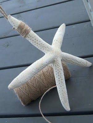 Hanging Starfish Decor Ideas With Twine