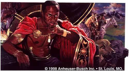 Grandes reis e rainhas de Africa - TENKAMENIN - Rei de Gana (1037-1075)