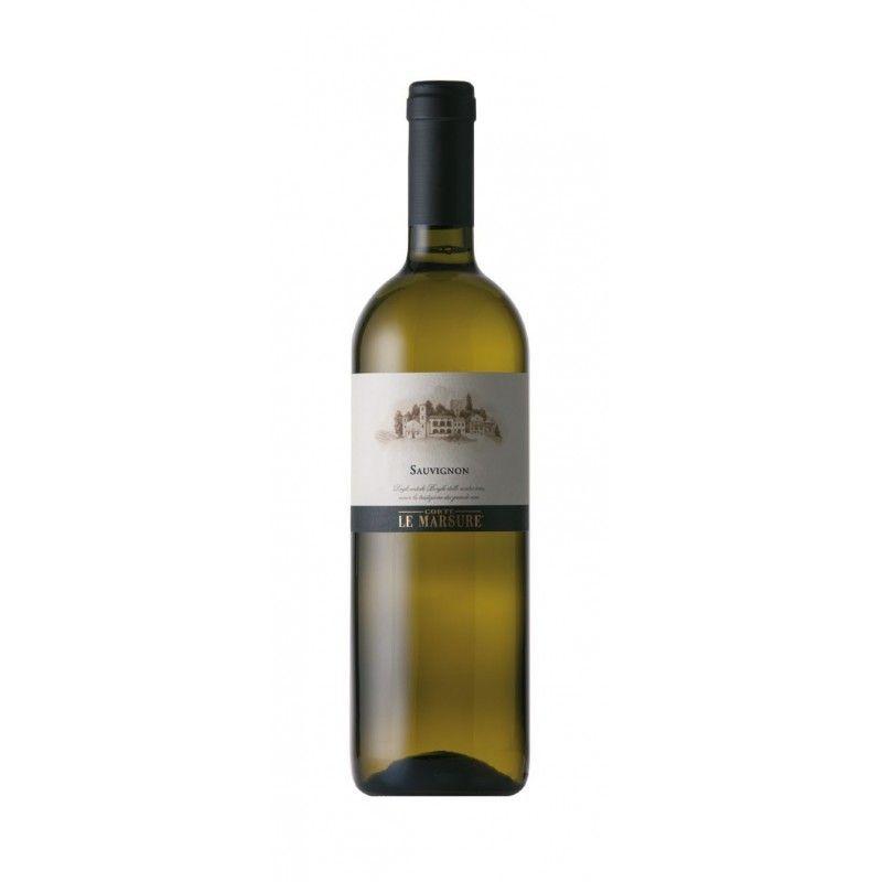Vino bianco affinato in acciaio -100% Sauvignon - Bottiglia 0.75 - Prodotto in Friuli Venezia Giulia