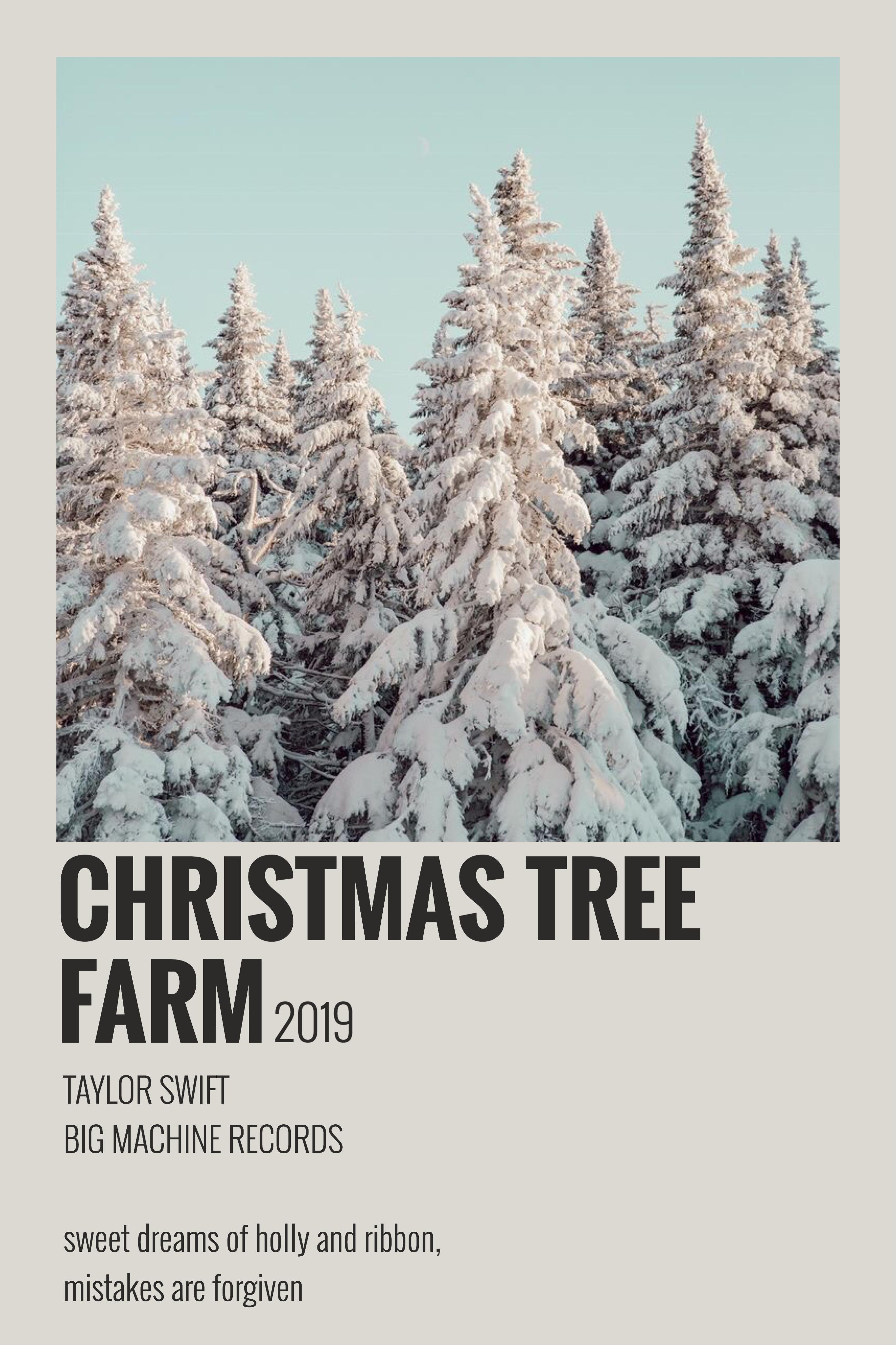 Christmas Tree Farm Lyrics