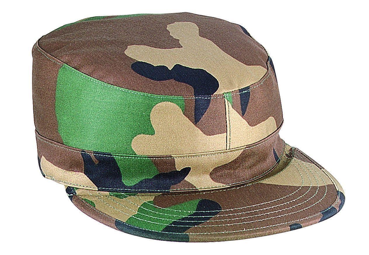 1809da9637fbc5 2 Ply Army Ranger Caps - Gov Spec Military Fatigue Hat w/ Map Pocket ...