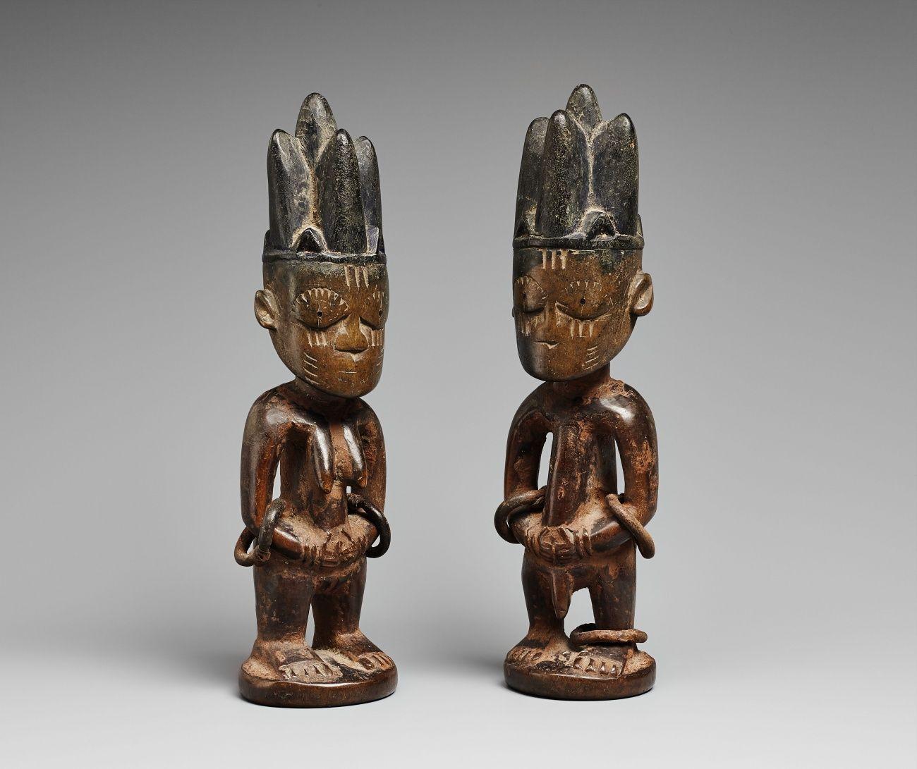 Native A Yoruba twin figure African art Yoruba Pinterest