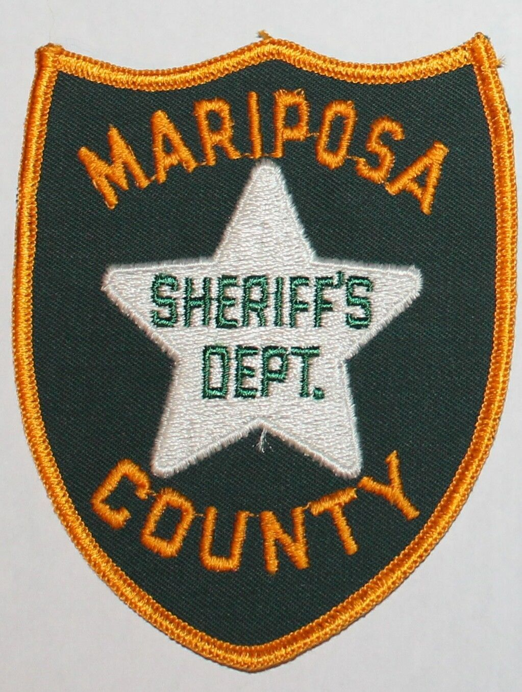 Very Old MARIPOSA COUNTY SHERIFF'S DEPT California CA SD