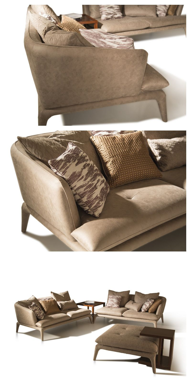 Modern High Quality Furniture Upholstered Leg Big Comfy