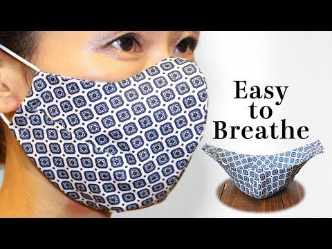 Breathable 5 Dart Face Mask Sewing Tutorial|PDF Pr