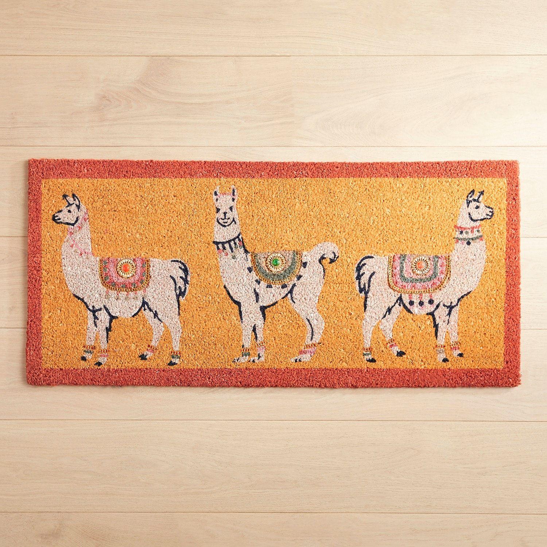 Llama jewels doormat doormat