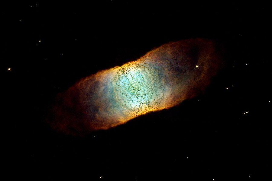 IC 4406: A Seemingly Square Nebula  Credit: C. R. O'Dell (Vanderbilt U.) et al., Hubble Heritage Team, NASA
