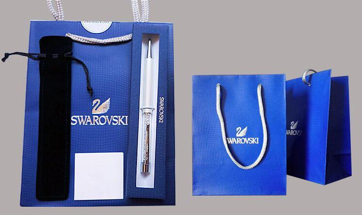 Ufficio Discount : Swarovski cristallo penna con confezione regalo sacchetto di