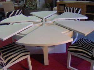 Mecanismo mesa extensible redonda | Mesas | Mesa redonda ...