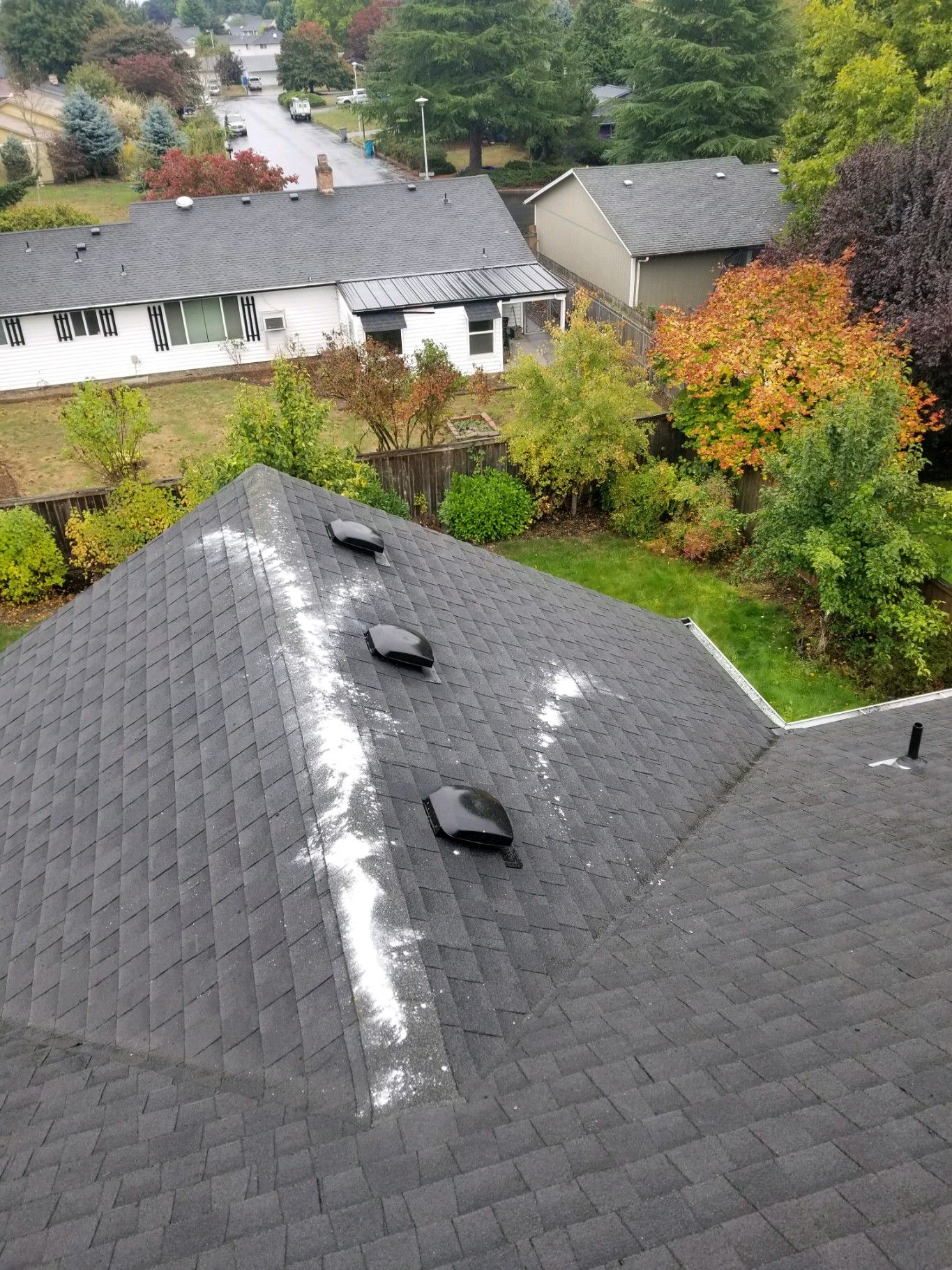 The Fall Season Is Such A Beautiful Time Of Year But It Also Means Clogged Roof Valley S And Gutters Make Sure To Roof Maintenance Roof Cleaning Roof Repair