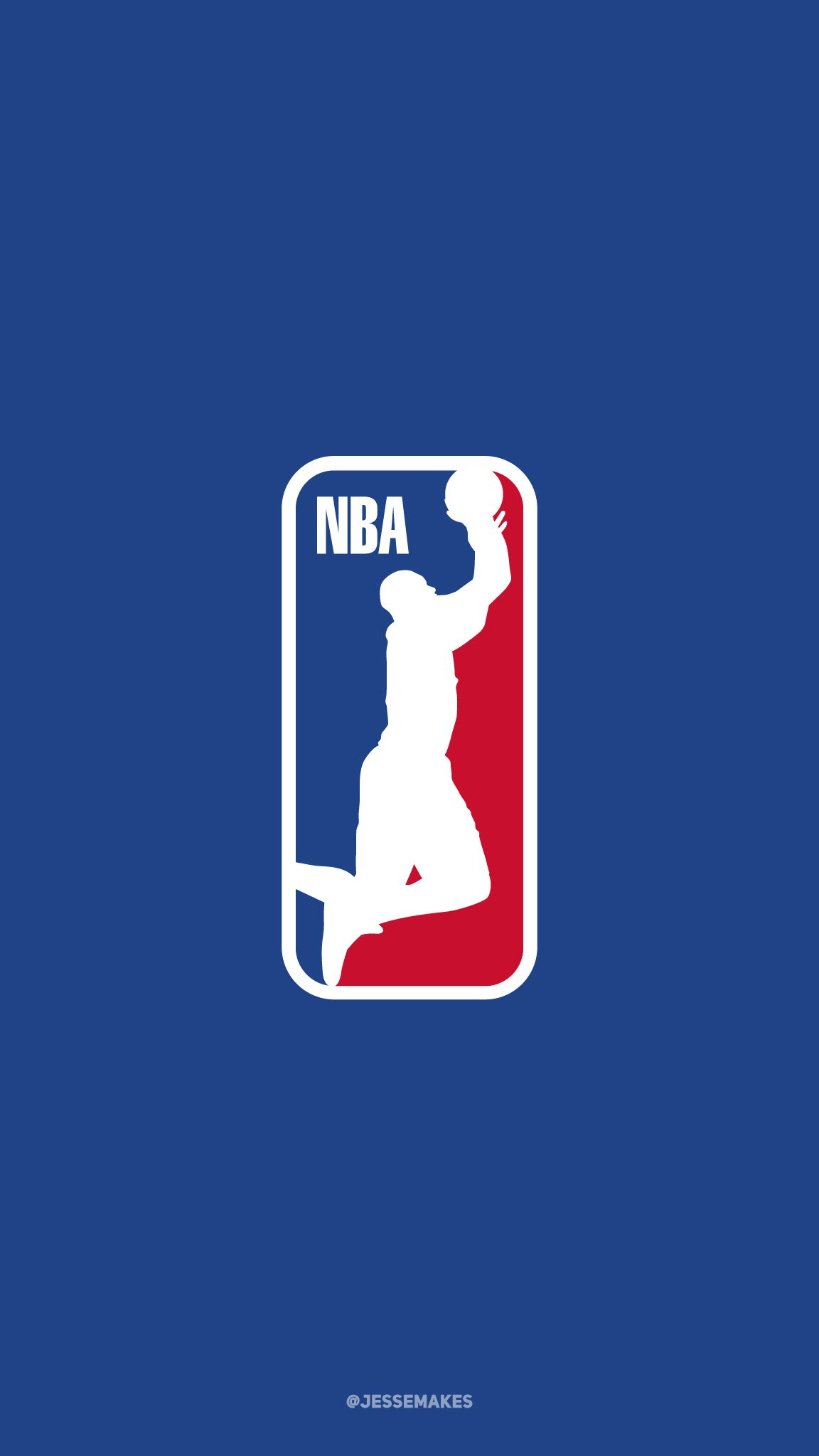 Dwyane Wade as the subject of the NBA logo  Part of my NBA
