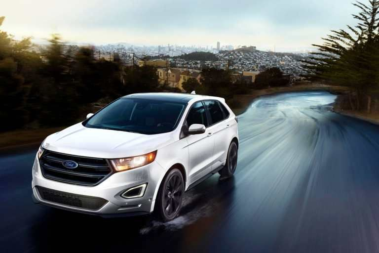 Edge Sport Looking Good On The Road Ford Edge 2017 Dodge