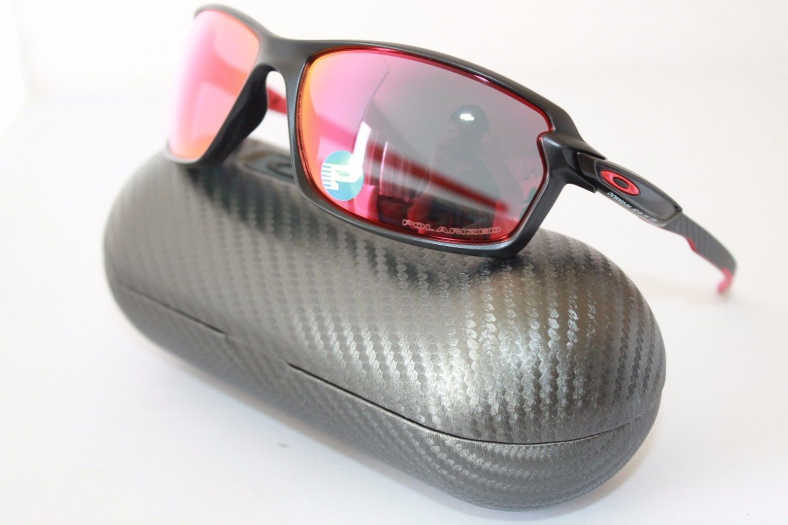 4a94a460dd Oakley Carbon Shift Polarized Sunglasses OO9302-04 Matte Black Torch Iridium