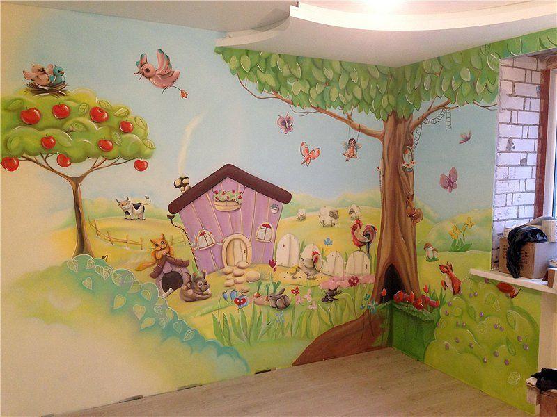 Надписью, картинки на стены в детском саду