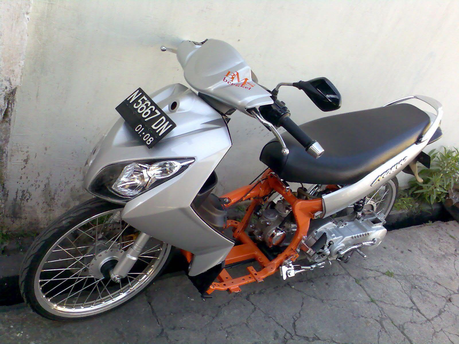 Modifikasi Yamaha Nouvo Lele Blog Gambar Modifikasi