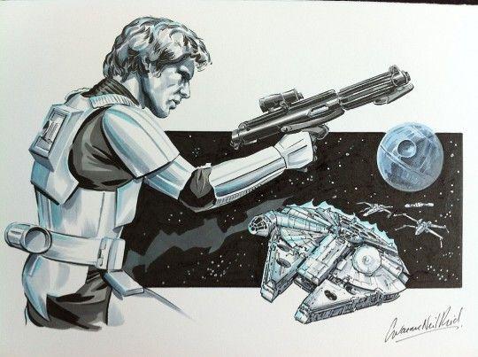 uber cool Star Wars art