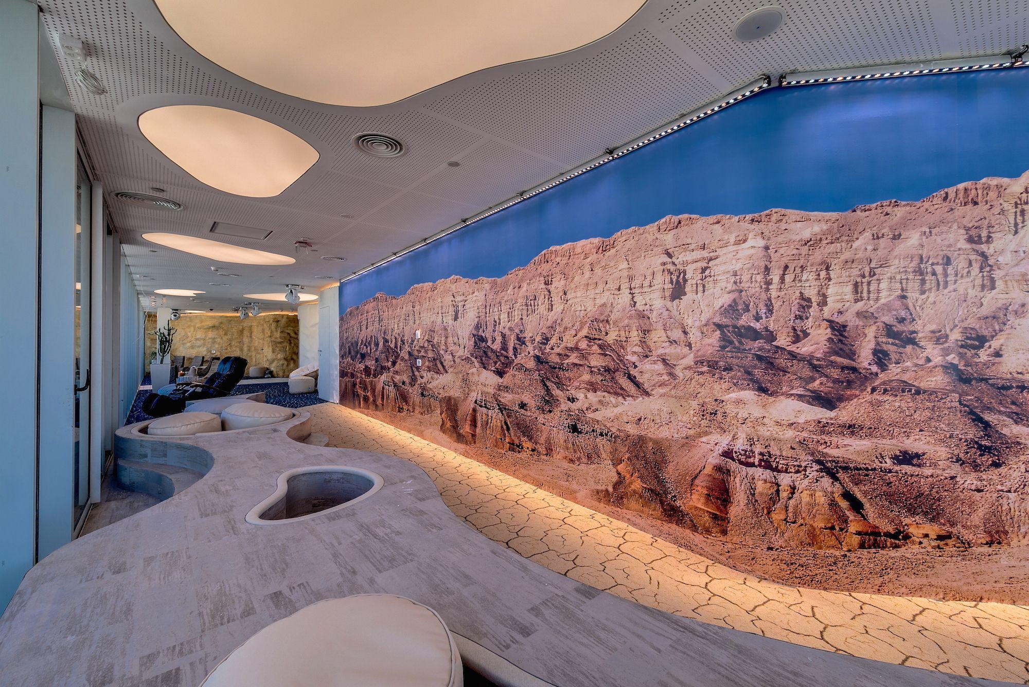 google tel aviv offices rock. Google Office Tel Aviv - Wellness Area | Identity: Energy \u0026 Vitality Offices Rock