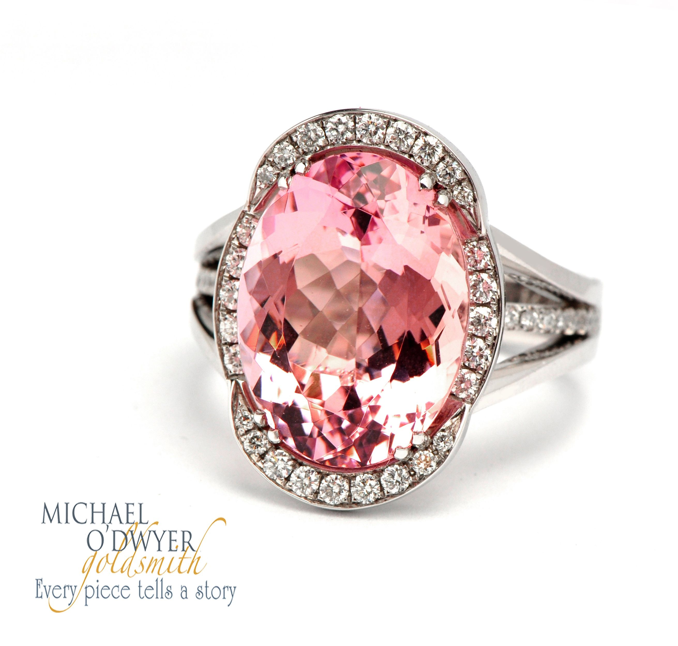 GABRIELLE\'S AMAZING FANTASY CLOSET | Morganite ring White gold ring ...