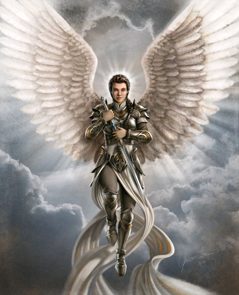 jason lee angel art | Guardian Angel | Warriors of God ...