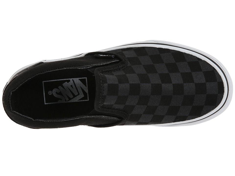 ce71fe16164 Vans Classic Slip-Ontm Core Classics Shoes (Checkerboard) Black Black
