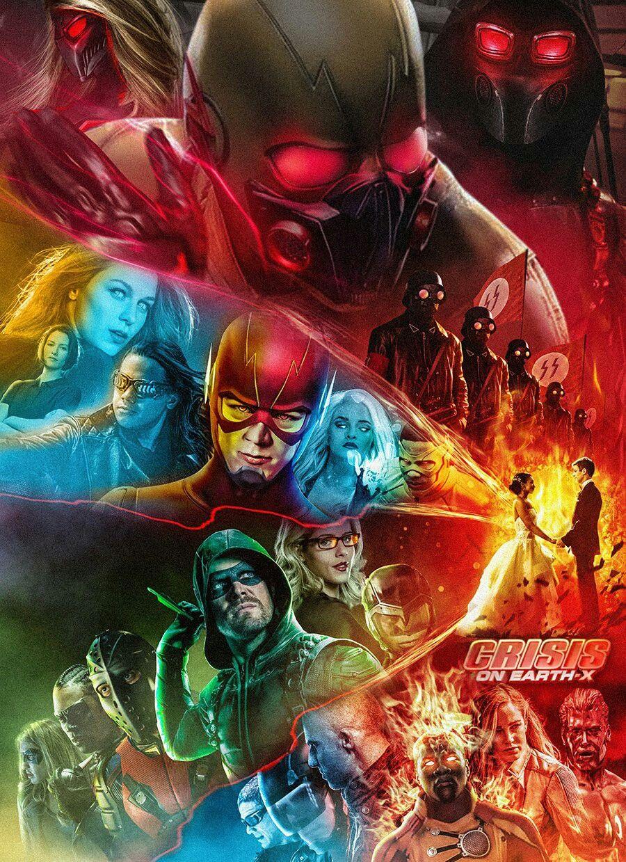 Crisis On Earth X Flash Comics Flash Wallpaper Supergirl And Flash