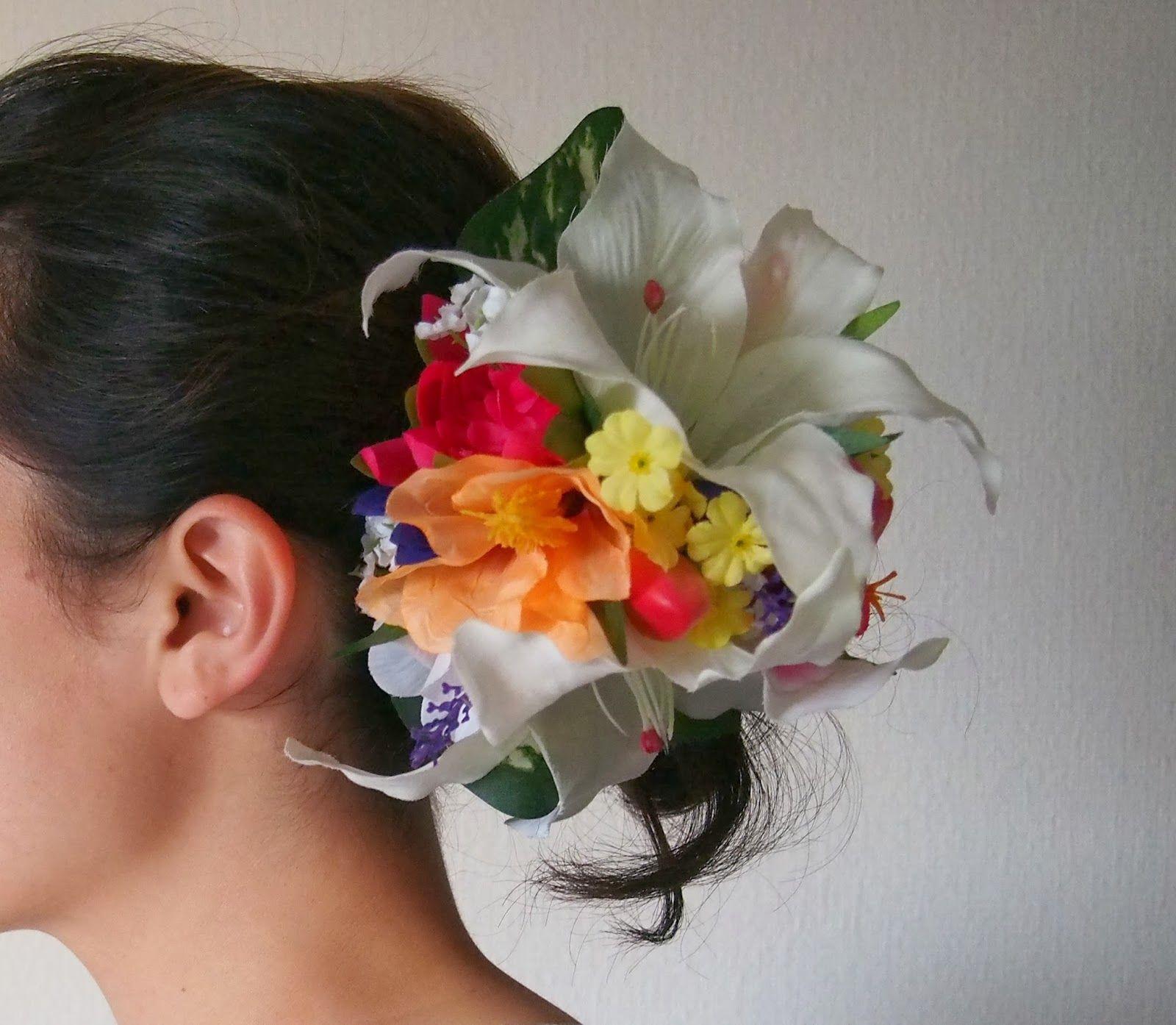 Chris hyndman hair piece - Nani Hula Hair Pieces Tropical