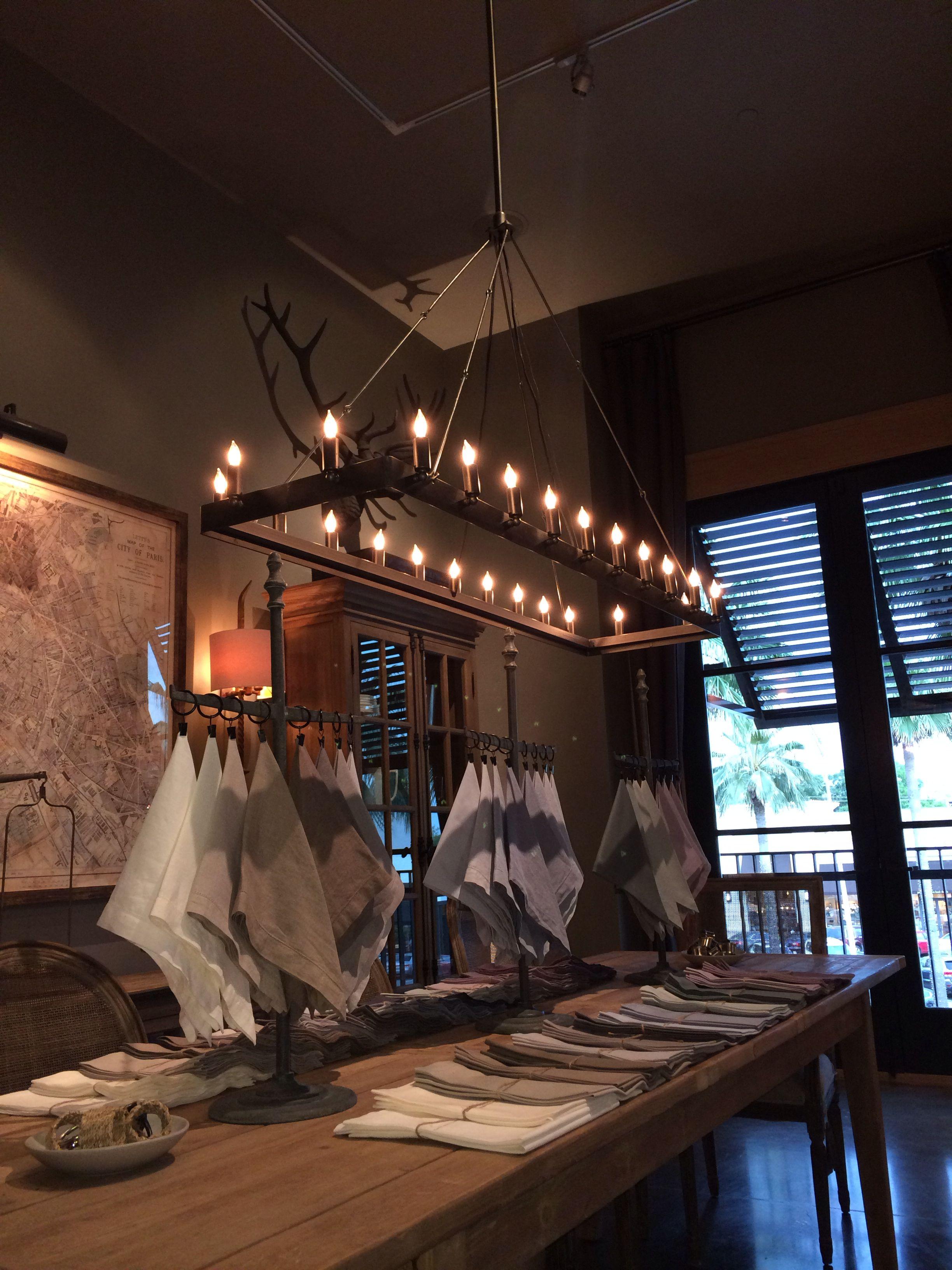 Our back ordered restoration hardware chandelier for the kitchen our back ordered restoration hardware chandelier for the kitchen arubaitofo Gallery
