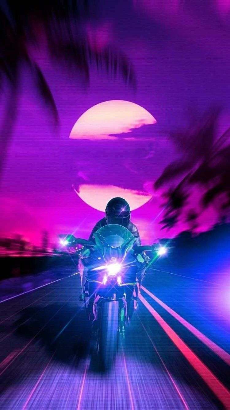 Android Live Wallpaper Low Memory Usage Vaporwave Wallpaper Retro Futurism Synthwave Art