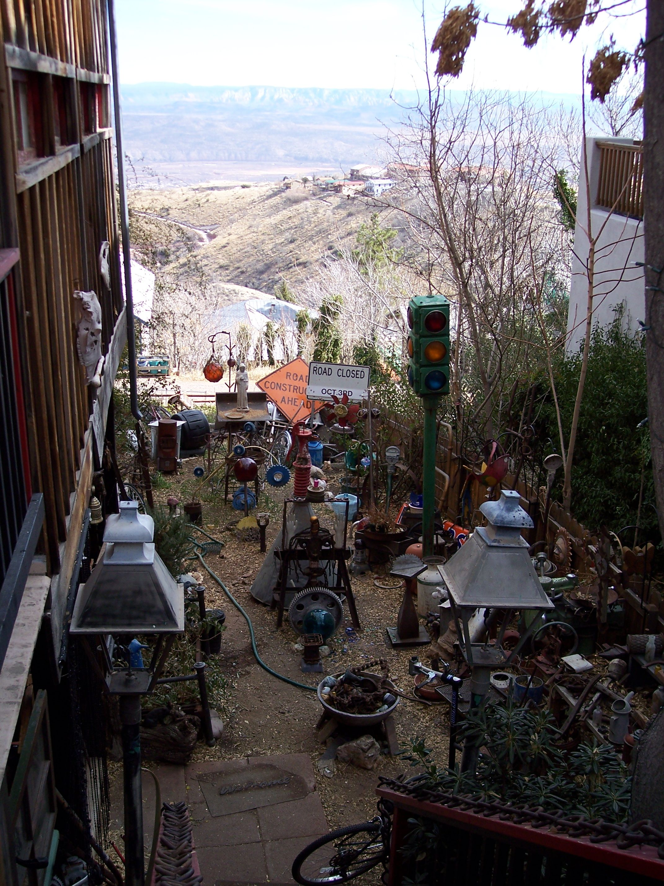 Jerome AZ - America's most vertical city