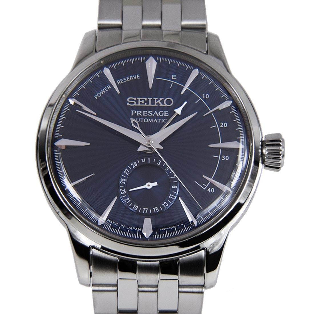 Seiko Presage Cocktail Automatic Gents Business Blue Moon