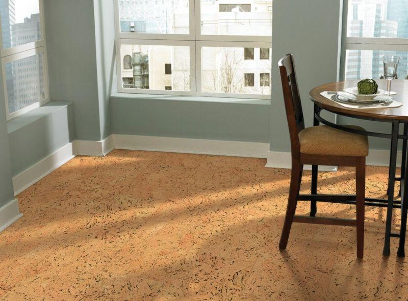 Korkfußboden Küche ~ Korkboden küche diy interieur home cork flooring flooring und