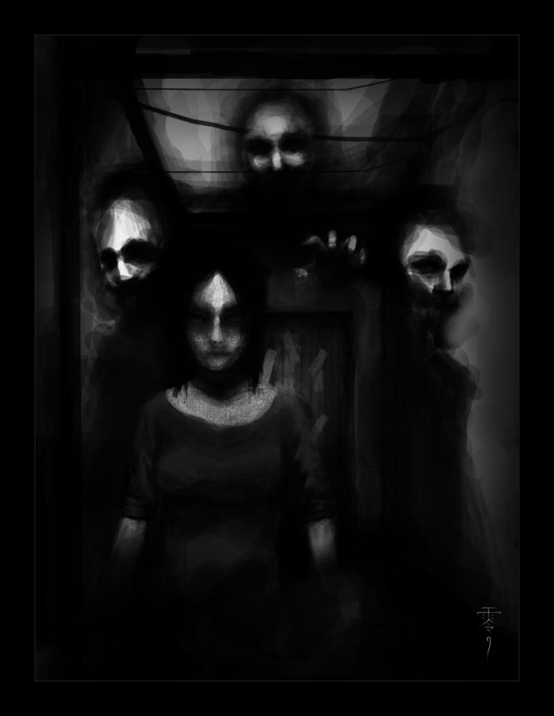 Fatal Frame Portrait | Creepy Creepy | Pinterest | Fatal frame