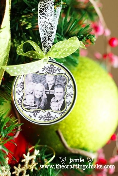 No Instructions Just Example Of Picture Frame Ornament Inspire