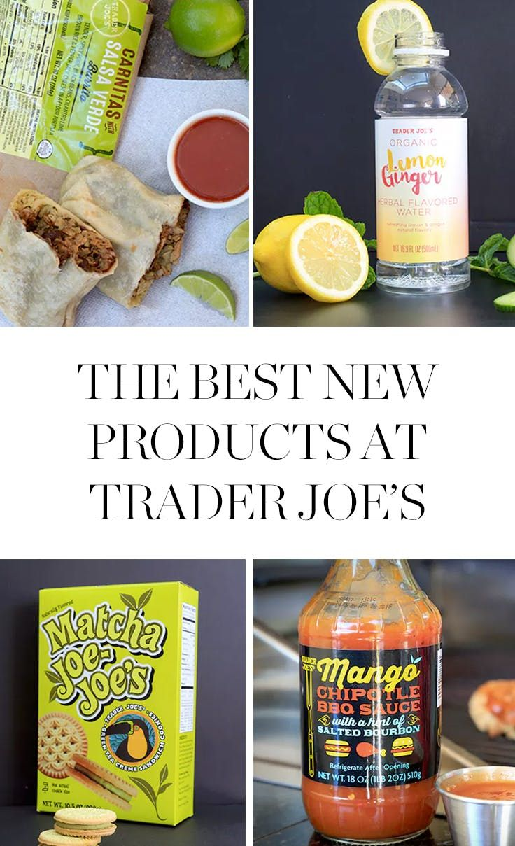 The Best New Products from Trader Joe\'s (All $7 or Less) | Food ...