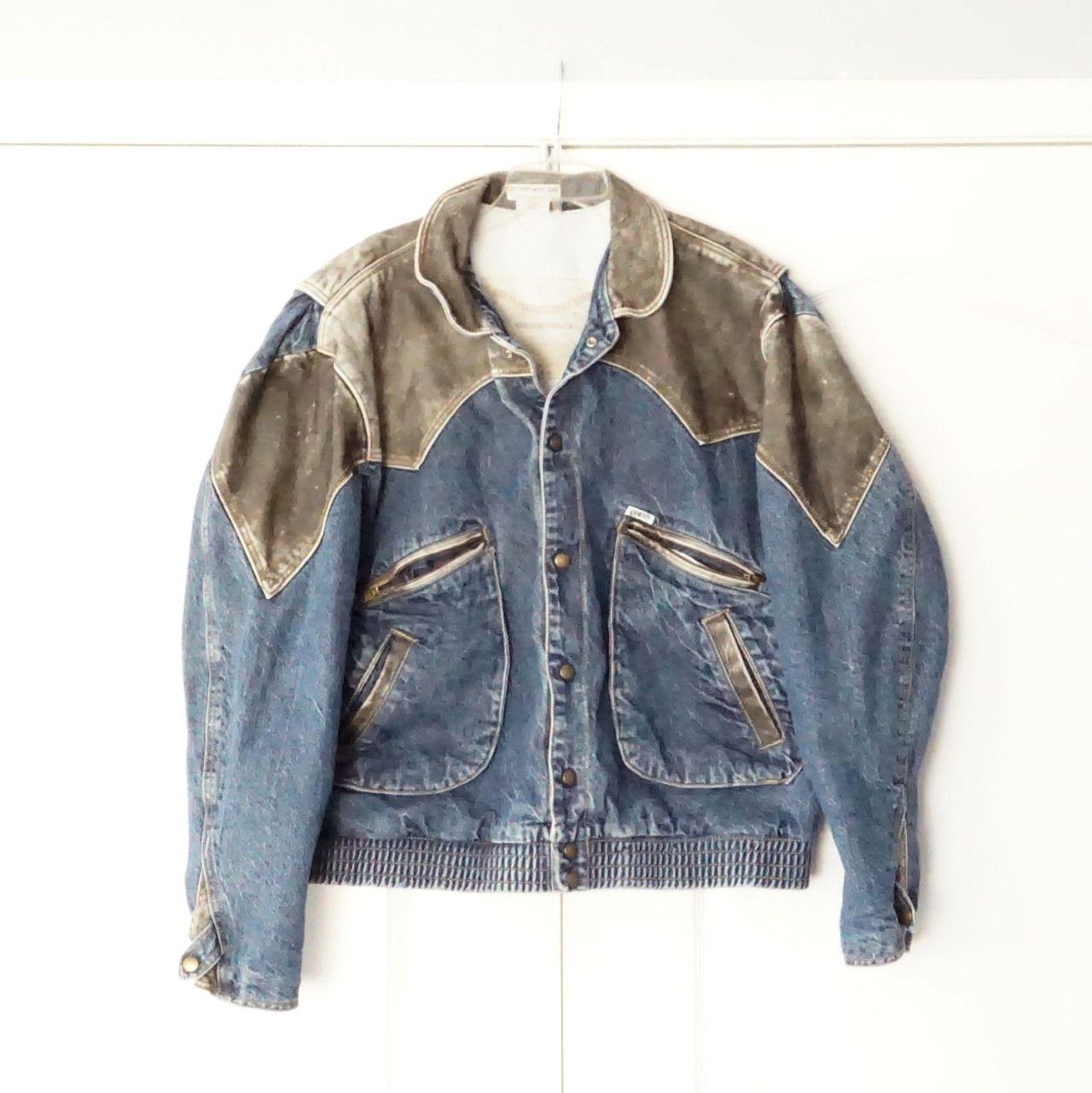 Grungeforfun Denim Jacket Denim Biker Jacket Jackets [ 1281 x 1280 Pixel ]