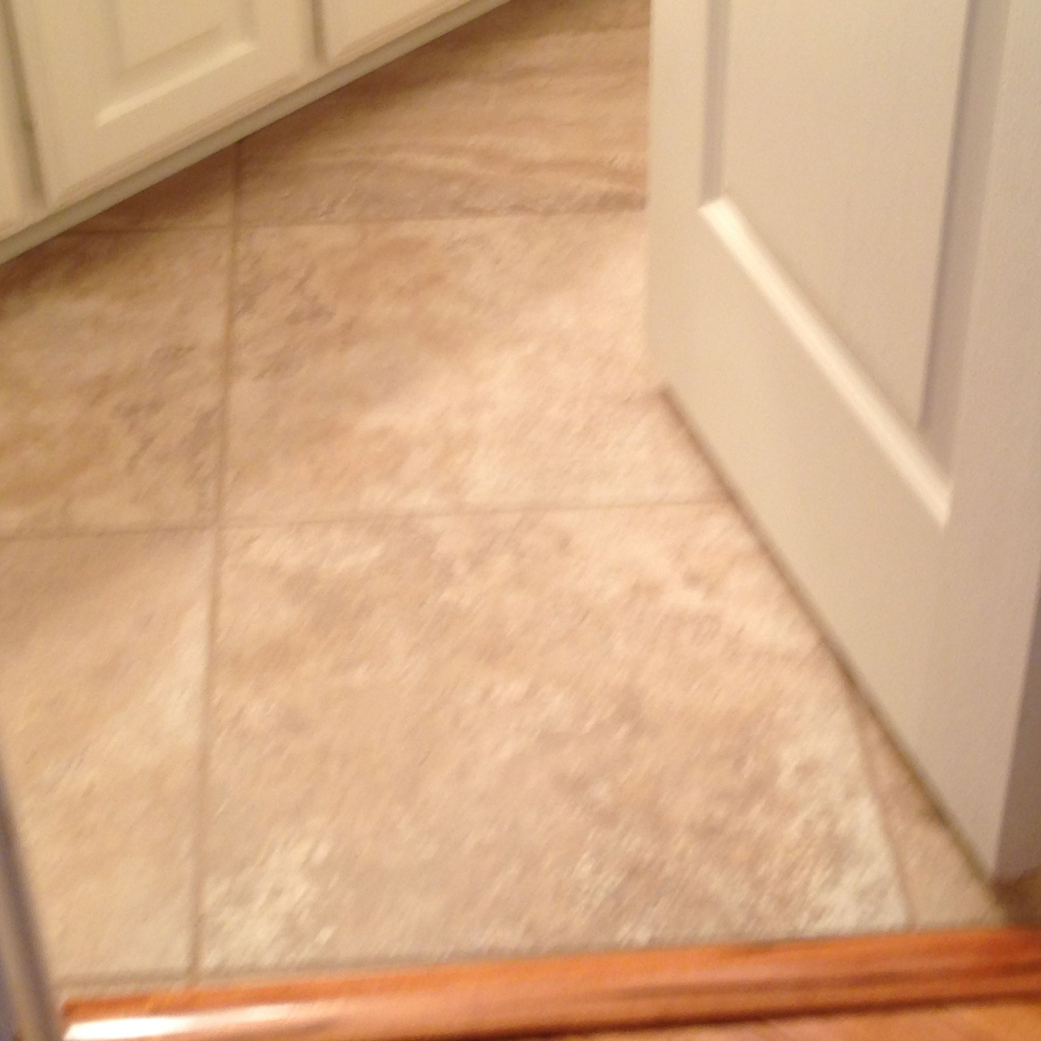 20x20 Tile Laid On Diagonal Pattern In Small Bathroom Tile And