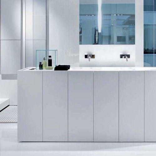 Modulo30 Corian Vanity With Floor Drain Floor Drains