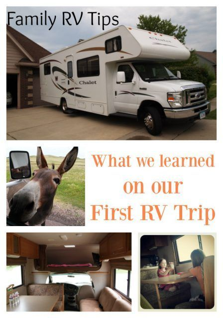 What We Learned From Our First Rv Rental With Images Rv