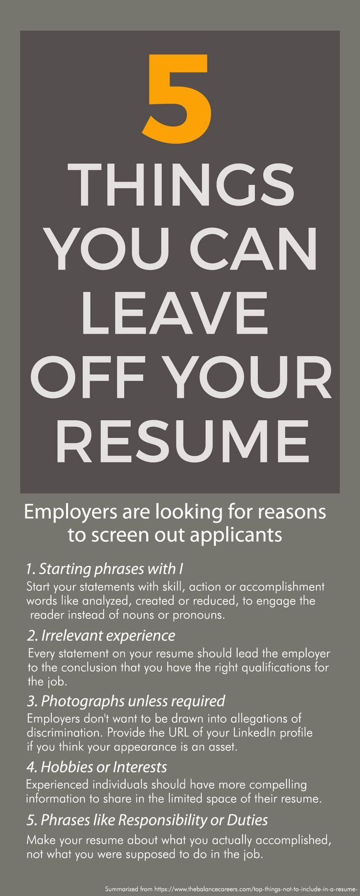Employers are looking for reasons to screen out applicants