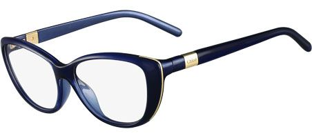 Talk about color that Pops. Give me these blue beauties! Eyeconic   Chloe   Glasses   CE2601