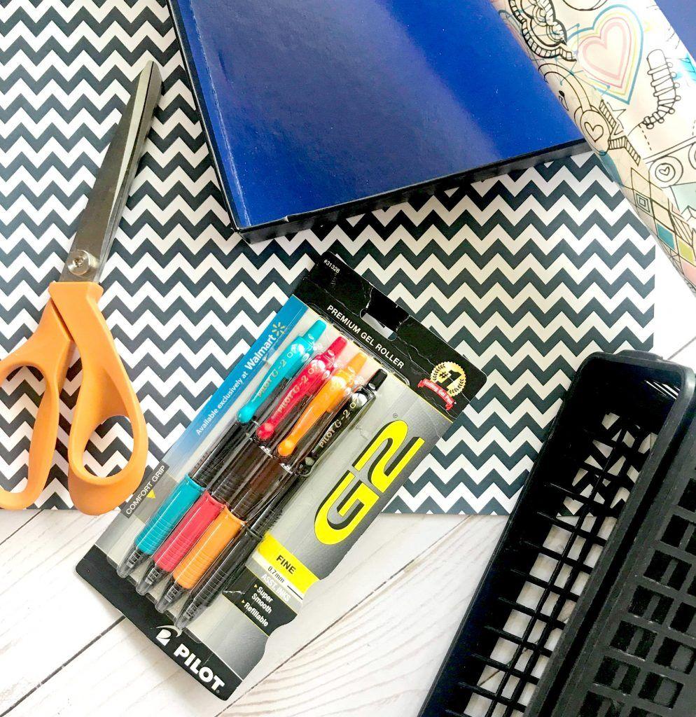 Organized Desk Drawers, Desk