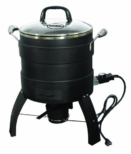 Masterbuilt 20100809 Butterball Oil Free Electric Turkey Fryer And