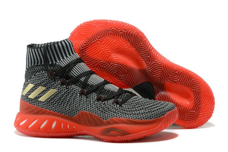 "adidas Crazy Explosive 2017 Primeknit ""Scarlet"" Black White-Scarlet CQ1395 831e39f57a83"