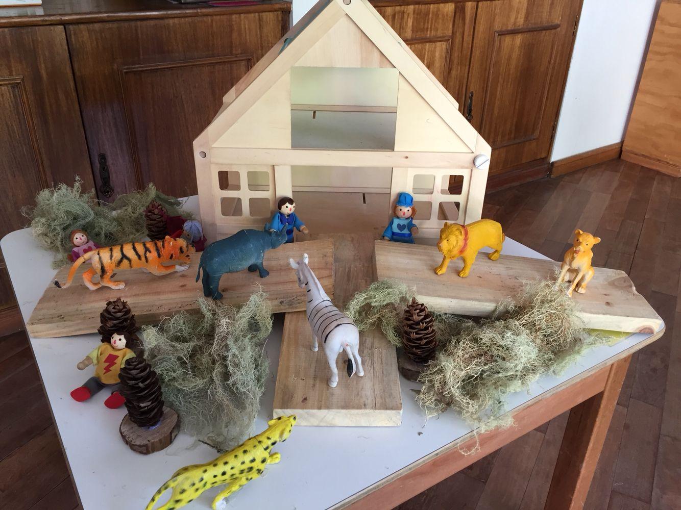 Casa y animales