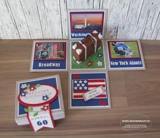 Amerika geschenkbox