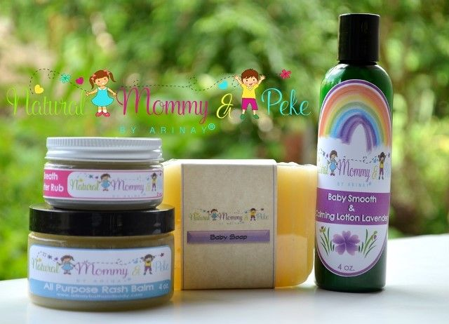 Natural Mommy and Peke products. Handmade natural products for Mommy and Babies. www.arinaybathandbody.com