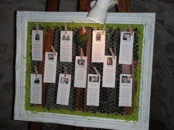 plan de table grillage poules mariage pinterest plans de table poule et plans. Black Bedroom Furniture Sets. Home Design Ideas