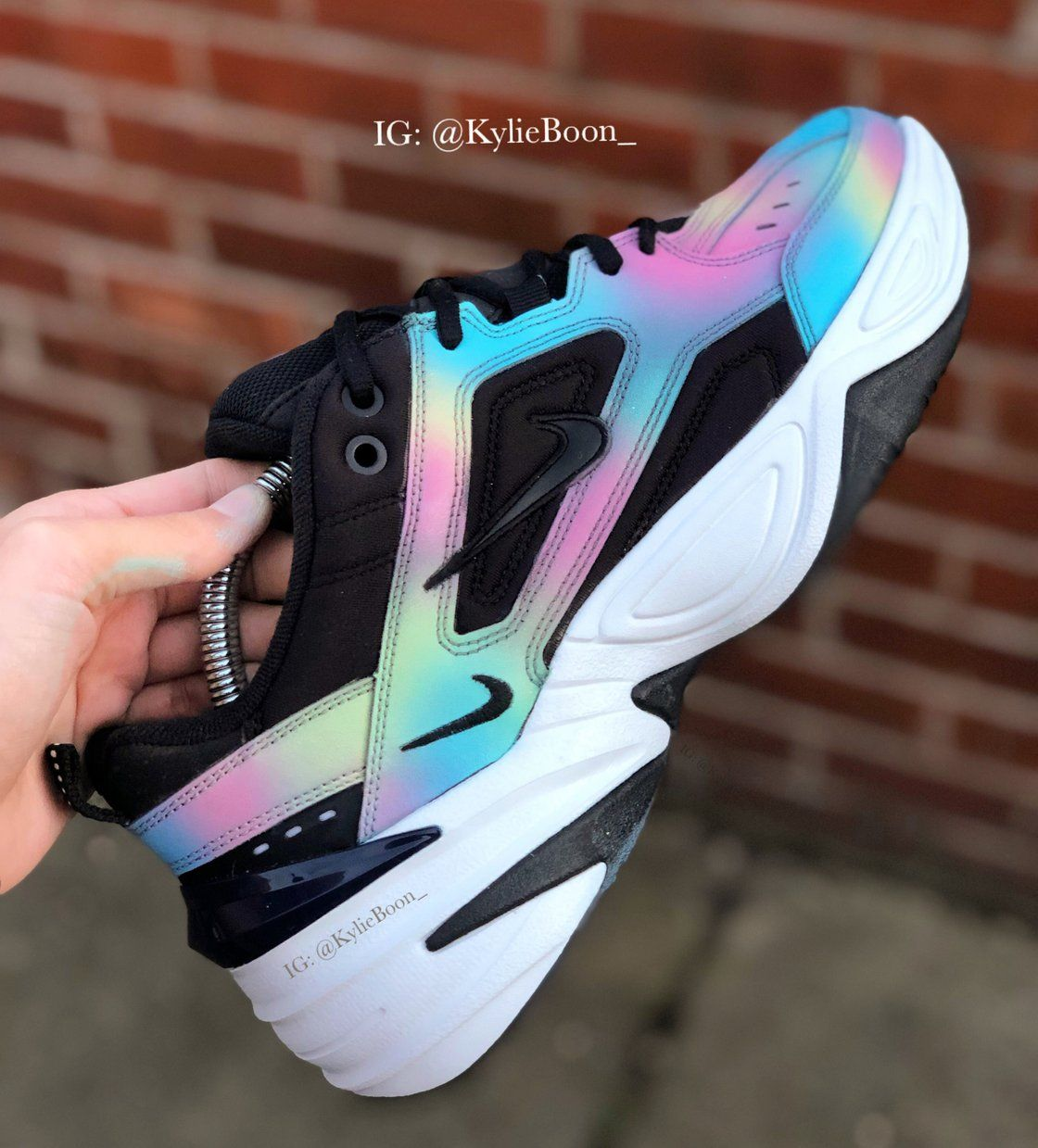 0768a0873 Oil Spill Nike M2K Tekno | KYLIE BOON | sporty schoes v roku 2019